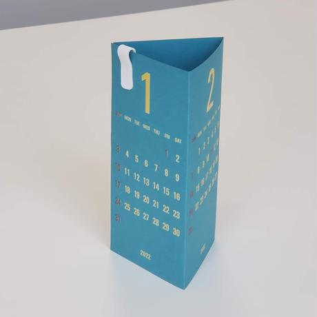 Replug 2022年カレンダー「Re+g Triangular」セット ピーコック