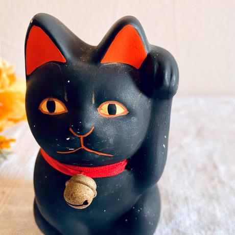 【5月号掲載分】houti|黒猫ちゃん 招き猫