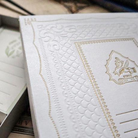 啓文社印刷 活版印刷のお手紙箱セット