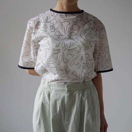 【10月号掲載分】Canako Inoue  garden / トップス white-black