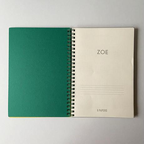 &PAPERS|ZOE 2022年スケジュール帳 M