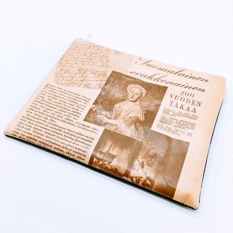 LIFE AND BOOKS|OLD PAPER POUCH (L)7-14