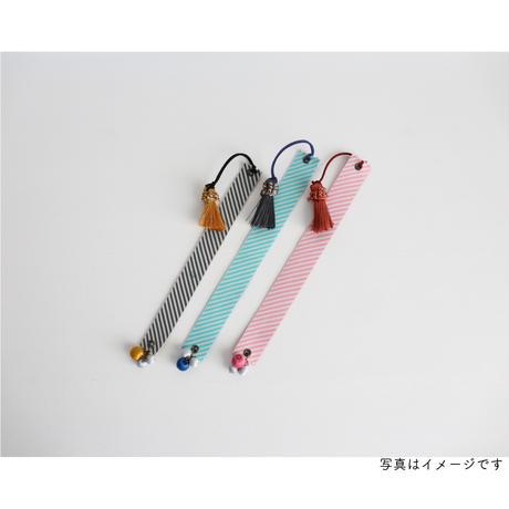 レピヤンリボン たんぽぽ/レッド×ボーダー/レッド ショコラ21mm セット( 各1m)