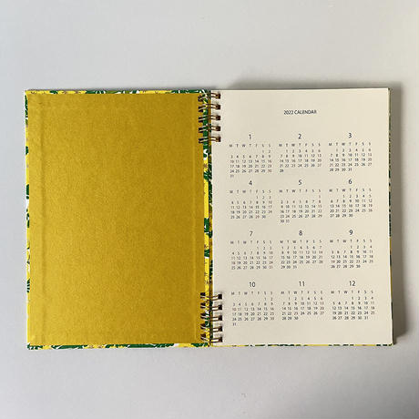 &PAPERS|PLAYFUL NOTES 2022年スケジュール帳 mimosa