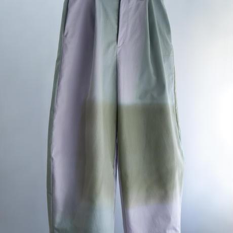 YUI MATSUDA wide curve pants【受注商品:10月中発送】