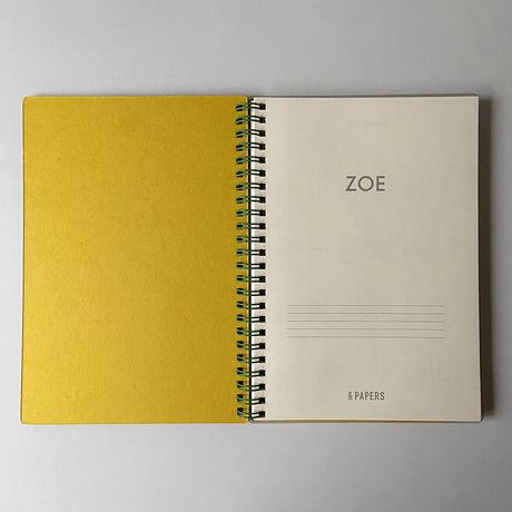 &PAPERS|ZOE 2022年スケジュール帳 D