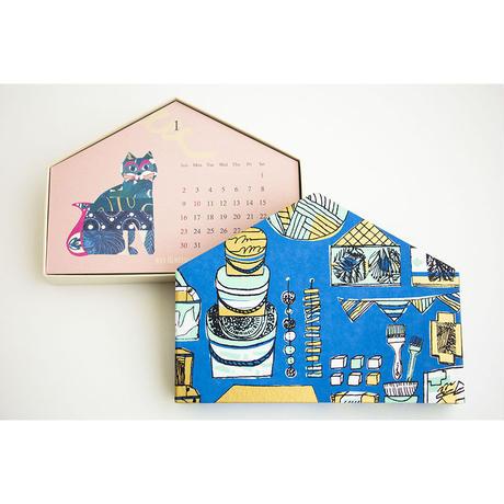 BOX&NEEDLE|CALENDAR 2022 -お家型-