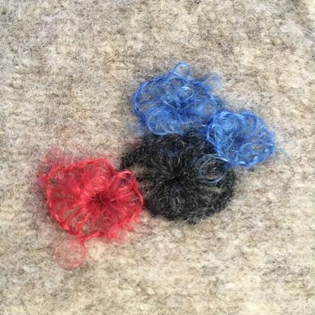 Darning by HIKARU NOGUCH 秋のダーニング 泡粒モヘア糸17色 ハンパー