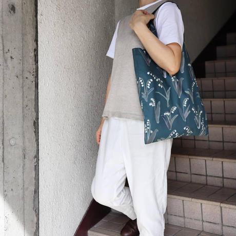 otsukiyumi Suzuran beigeトートバッグ