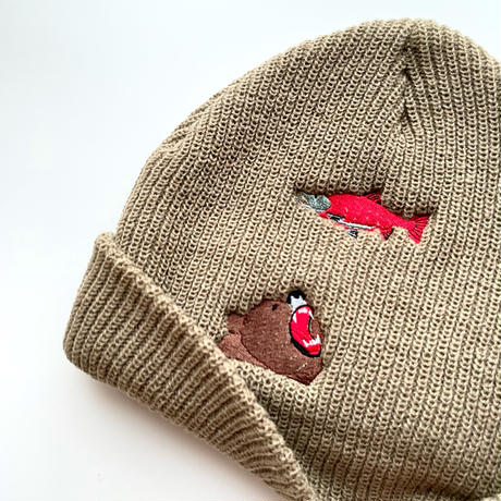 slowth ニット帽【King salmon】