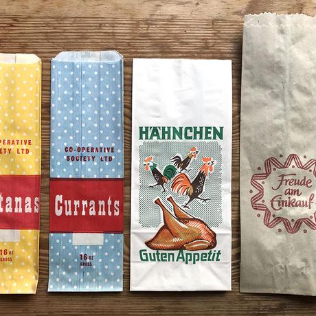 【9月号掲載分】オソブランコ ヴィンテージ紙袋セット(4枚)
