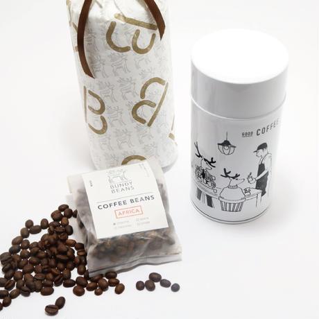 BUNDY BEANS I コーヒー缶 月刊手紙舎限定ブレンド100g付