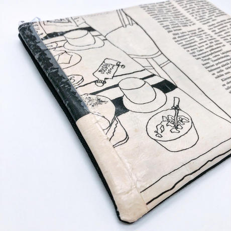 LIFE AND BOOKS|OLD PAPER POUCH (L)17