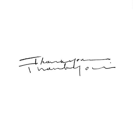 hase|Stamp「thank you」  【受注商品:12月中発送】
