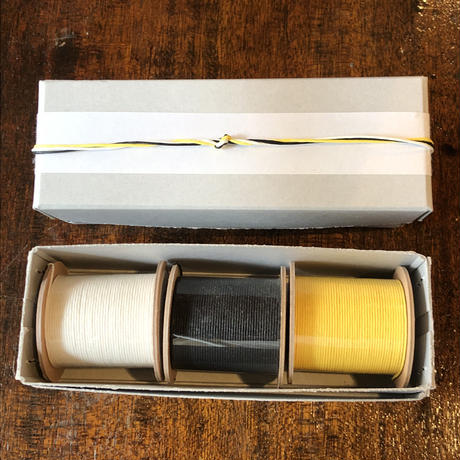エモジ 結紙 白・黒・黄