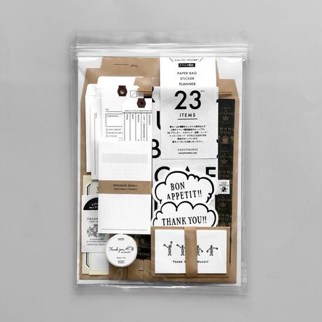 【7月号掲載分】KNOOPWORKS  紙モノ23種類KNOOPセット