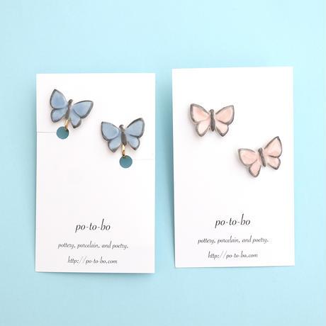 【8月号掲載分】po-to-bo|蝶々耳飾り