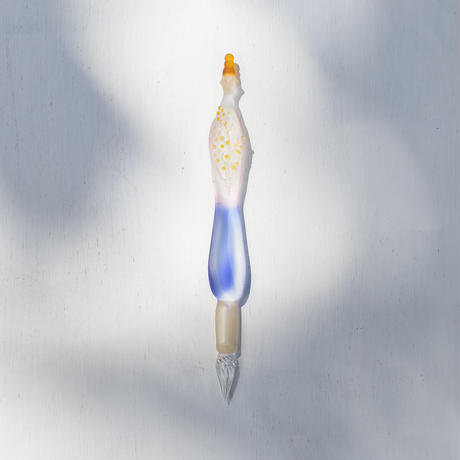 【5月号掲載分】羽鳥景子 × 啓文社印刷 ガラスペン(隅金箱入)「Lady」