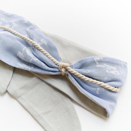 POTTENBURN TOHKII | HAIR BAND9<PAPER BLUE>