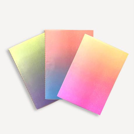 【9月号掲載分】JAM|レトロ印刷3種のグラデーションノート