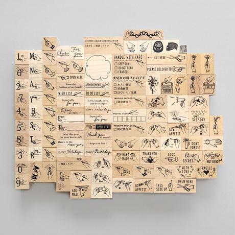KNOOPWORKS |〈PAPER CHAIN〉スタンプ |輪飾り
