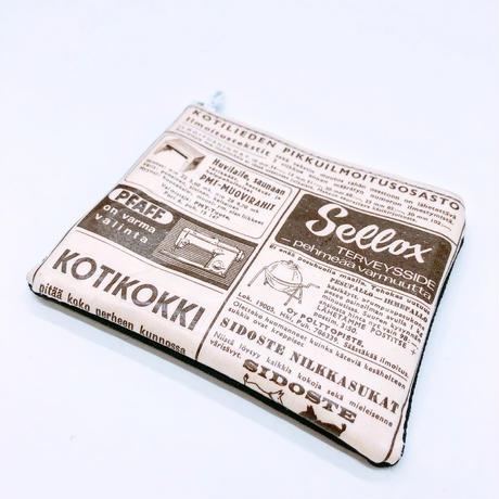 【過去掲載分】LIFE AND BOOKS|OLD PAPER POUCH (S)18