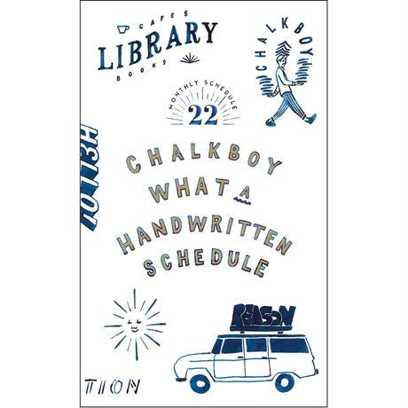 CHALKBOY(グリーティングライフ)|2022手帳