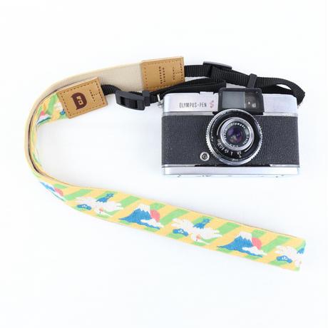 レピヤンリボン|オリボンカメラストラップ/富士山 3色