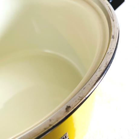 houti|MARUBISHI 可愛いレモンイエローホーロー鍋
