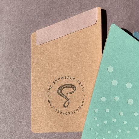 西荻ペーパートライ|The Snowback Press | メモパッド(1冊) いろどり
