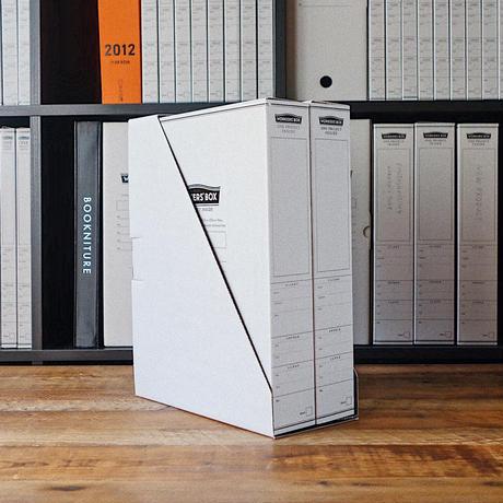 HI MOJIMOJI WORKERS'BOX WIDE 2冊 + STAND セット