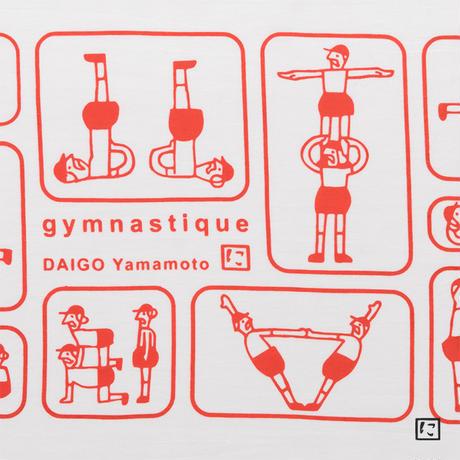 注染手ぬぐいにじゆら|gymnastique-組体操のおじさん- 赤組