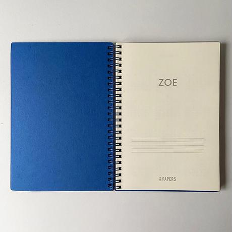 &PAPERS|ZOE 2022年スケジュール帳 G