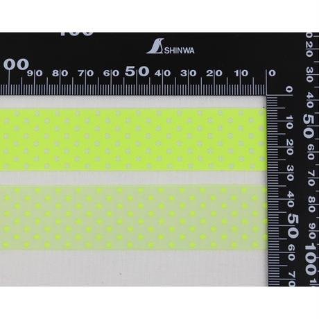 レピヤンリボン|リバーシブルリボン・アソートセット/POP ドット 24mm( 各1m)
