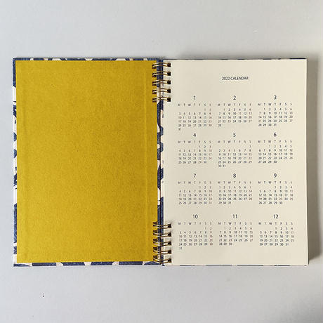&PAPERS|PLAYFUL NOTES 2022年スケジュール帳 freurs bleues