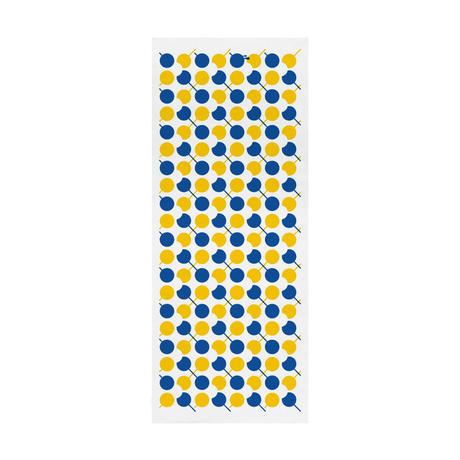 Nuusle|てぬぐい 「団子アーガイル」青×黄