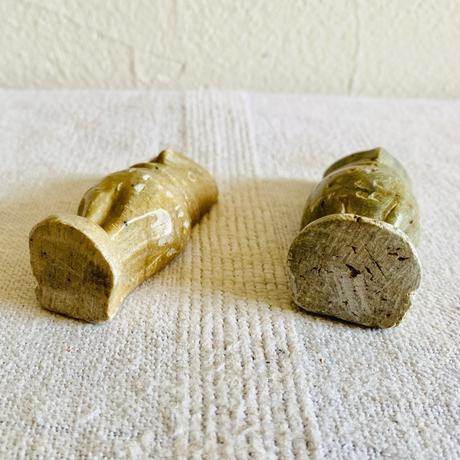houti|天然石 ふくろう ペア