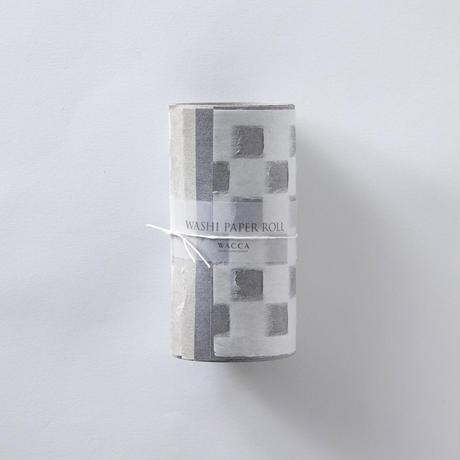 【9月号掲載分】WACCA JAPAN|和紙ロール&和紙糸の詰め合わせBOX|MONOTONE 墨色【月刊手紙舎限定セット】