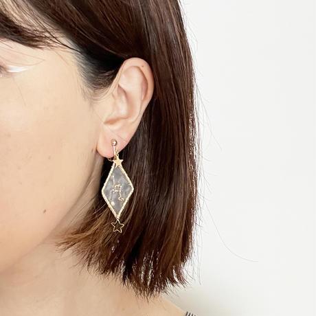 patterie STAR DIAMOND PIERCE/EARRING - 蟹座【受注商品:11月中発送】