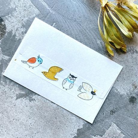【6月号掲載分】水縞|【限定セット】マスキングテープ 松尾ミユキ×水縞 小動物セット