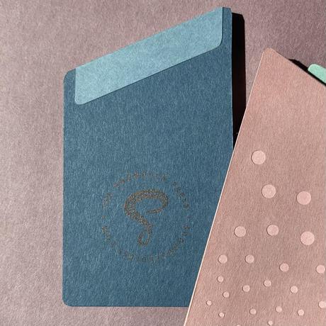 西荻ペーパートライ|The Snowback Press | メモパッド(1冊) あお
