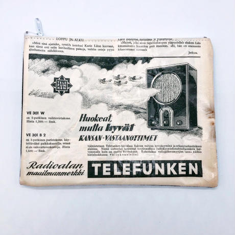 LIFE AND BOOKS|OLD PAPER POUCH (L)19
