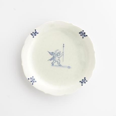 松浦ナオコ 4天使のオランダ小皿 A