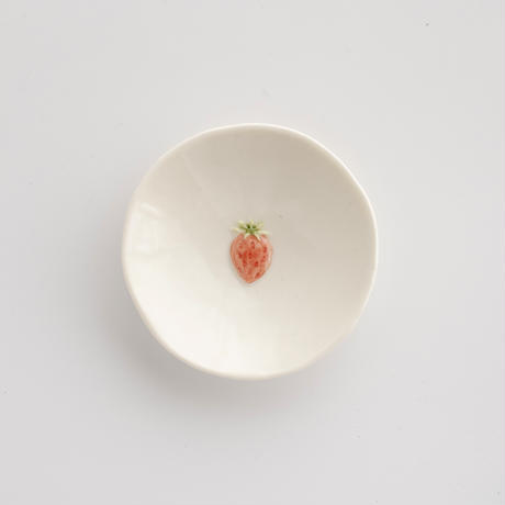 【7月号掲載分】po-to-bo|10フルーツ豆皿・いちご