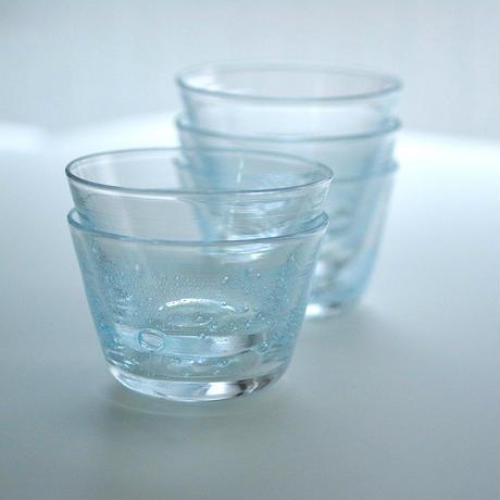 sun'oco glass 曽田伸子 [青]そばちょこ No.2