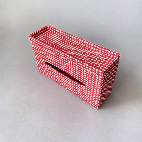 &PAPERS SNEAK SIDE LOKTA bold grid red