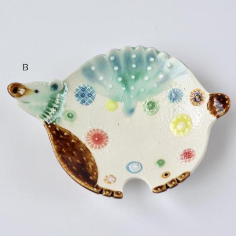 みかガマ|16クマやん豆皿