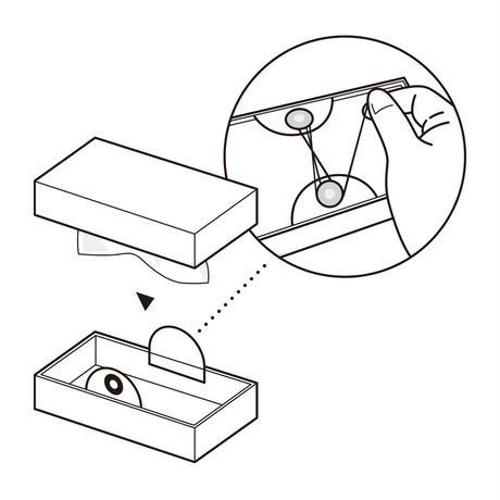 啓文社印刷|隅金箱 テッシュケーススリムタイプ
