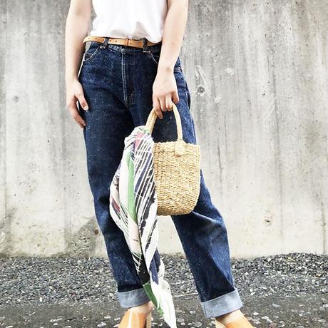 "YUMI YOSHIMOTO| シルクプリントスカーフ ""The spring day"""