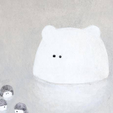 三好愛|パネル原画「置いてけぼり」